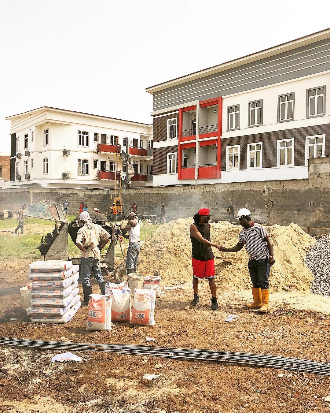 Paul Okoye Building New Mansion In Parkview (3)