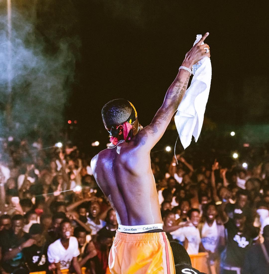 Wizkid Concert In Ivory Coast
