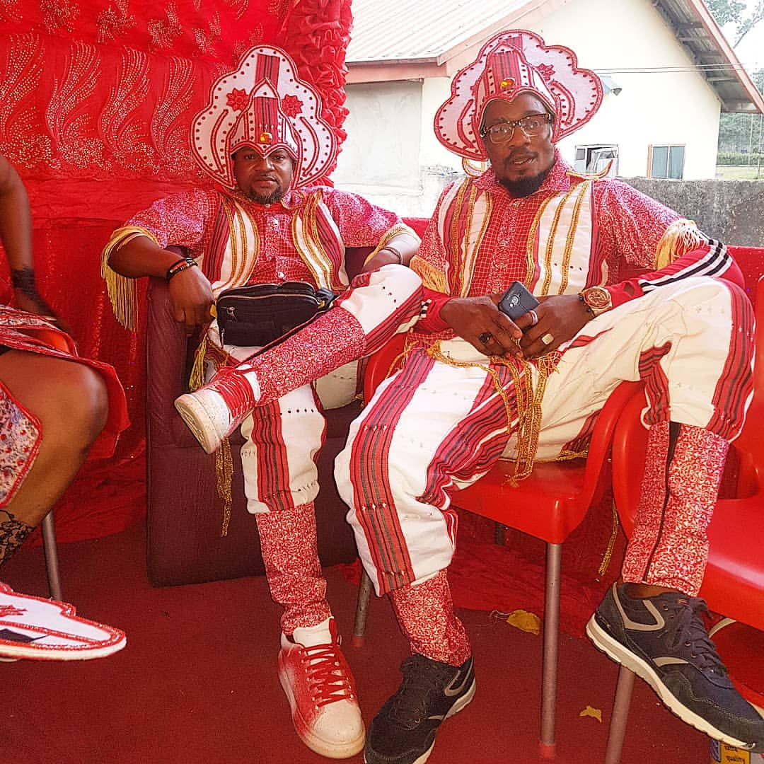 Okon Lagos With Junior Pope At Calabar Carnival 2018