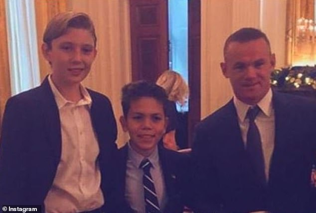 Wayne Rooney At White House Christmas Children's Party (2)