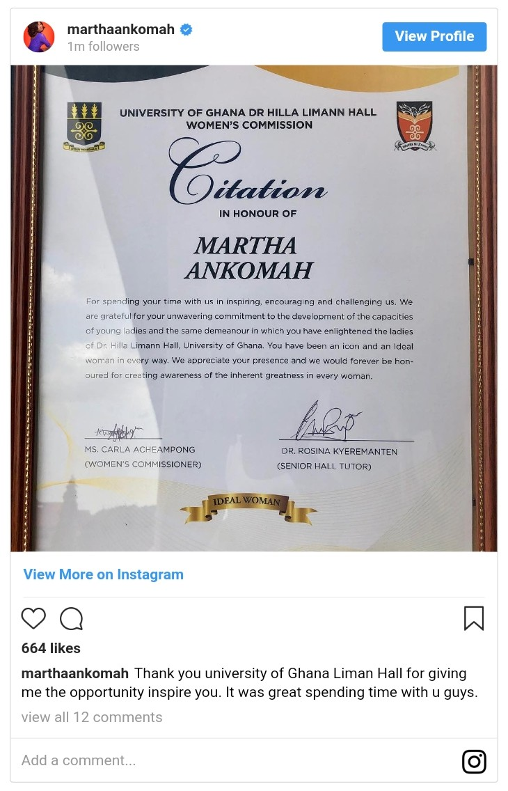 Citation In Honour Of Martha Ankomah (3)