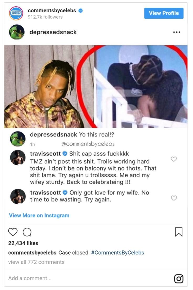Travis Scott Denies Cheating On Kylie Jenner (2)