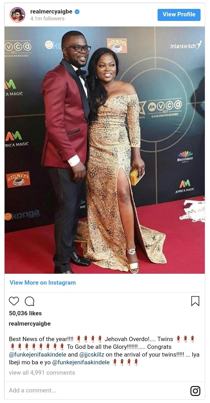 Funke Akindele Welcomes Twin Boys (2)