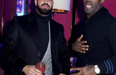 Drake And Idris Elba Celebrated New Year's Eve Together