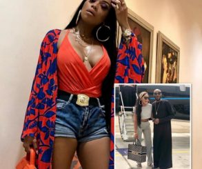 Bonang Matheba Holidays In Lagos