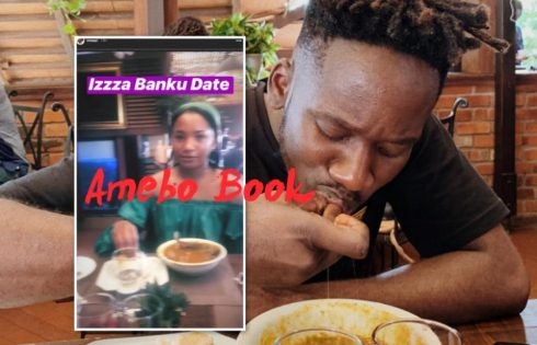 Mr Eazi And Girlfriend Temi Otedola Pictured Eating Banku