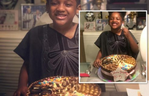 Olivia Idibia Celebrates 5th Birthday