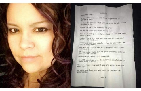 Leduc Mother Who Received Racist Letter Telling Her To Move