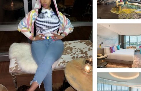 Nicki Minaj's $4500-a-night 'Extreme Wow' Suite