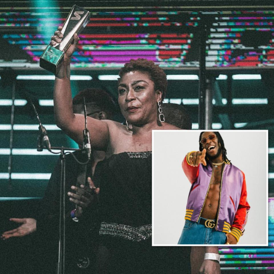 "Burna Boy's Mum Thanks Kanye West For Making ""Ye"" Album Mistake"