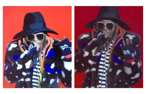 Lil Wayne Outfit 2019 College Football Playoff National Championship