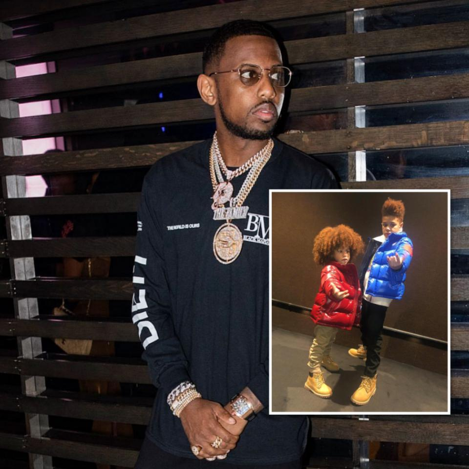 Fabolous's Elder Son Is Getting Tired Of His Little Brother Following Him Everywhere