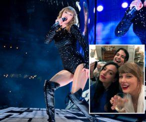 Taylor Swift Celebrates '20wineteen' With Selena Gomez And Cazzie David
