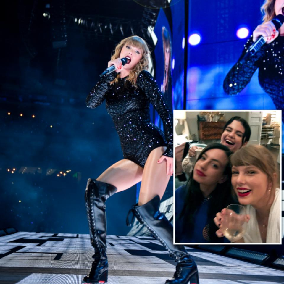 Taylor Swift Celebrates '20wineteen' With Selena Gomez And Cazzie David