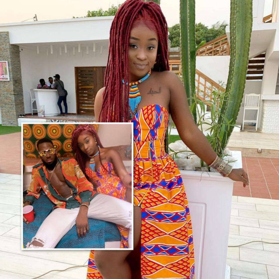 D'banj Pictured With Ghanaian Actress Efia Odo