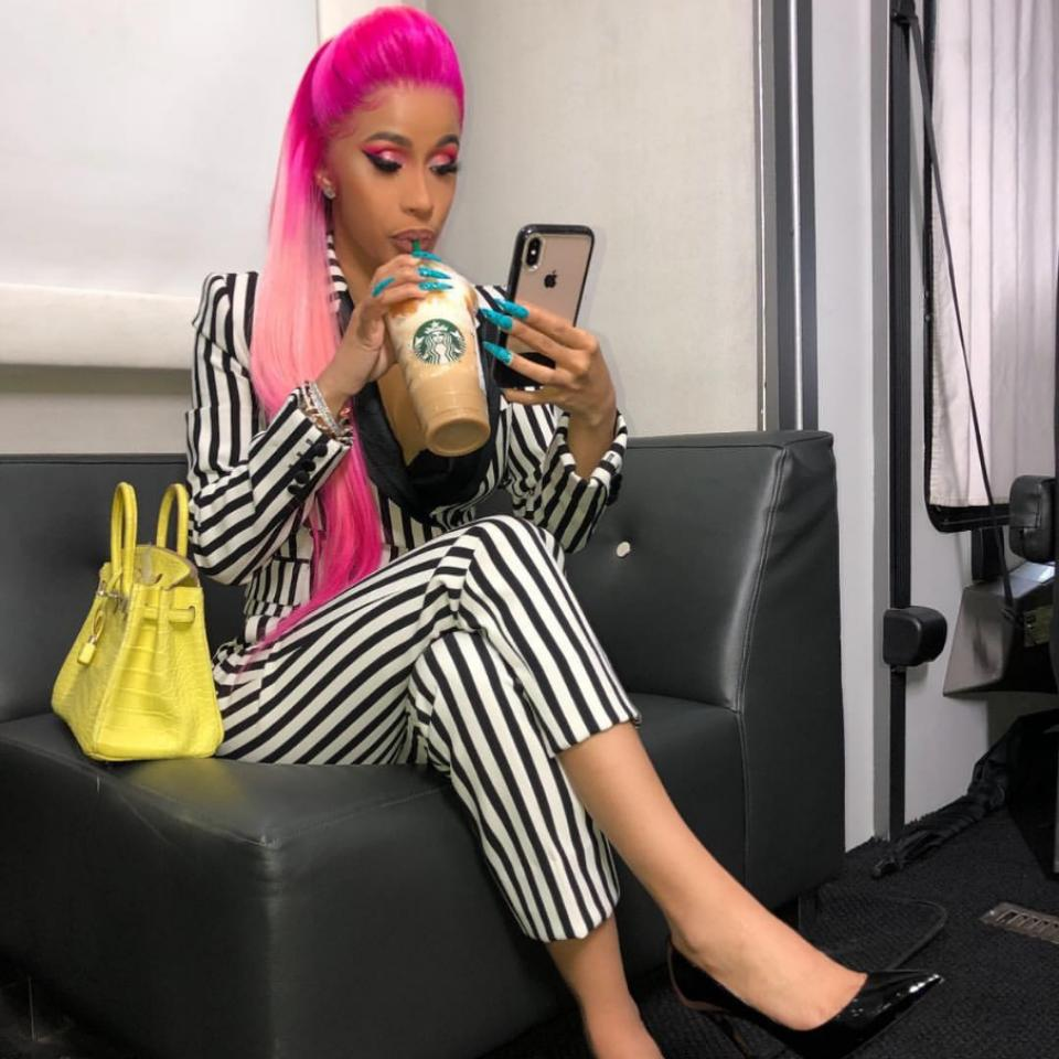 Cardi B Showers Daughter Kulture With Kisses