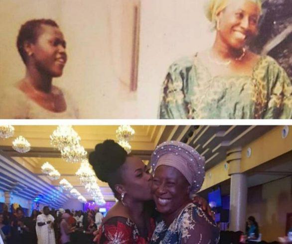 Patience Ozokwor Shares 2002/2018 Photo With Uche Jombo