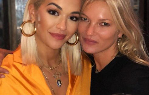 Rita Ora Marks Kate Moss' 45th Birthday With Saucy Bed Snap