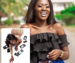 Fella Makafui Photos To Promote Her Lashes