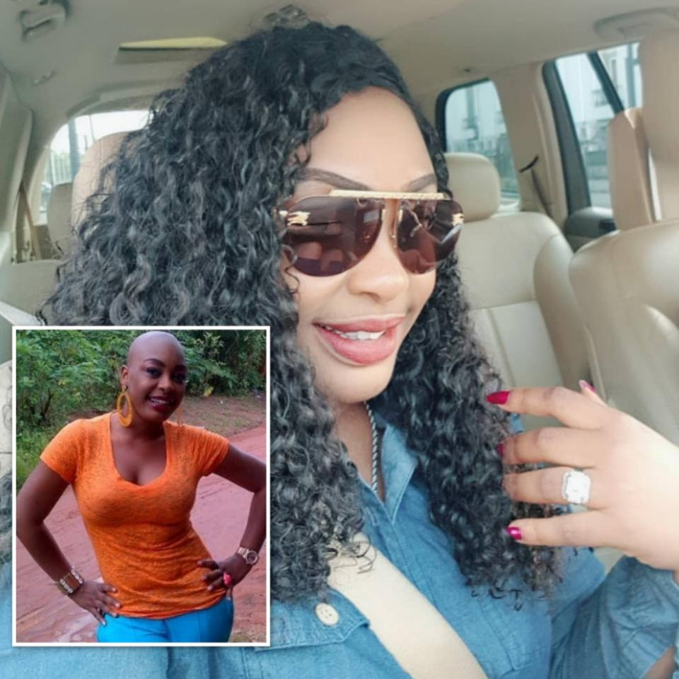 Nuella Njubigbo Bald-headed