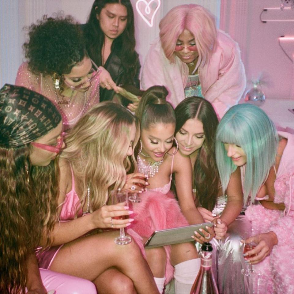 Ariana Grande 7 Rings Music Video