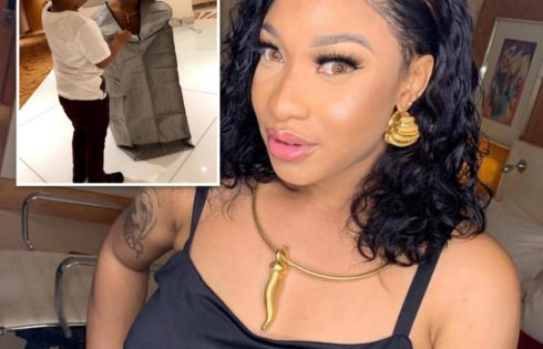 Tonto Dikeh Is Securing The Bag