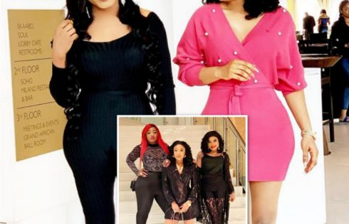 Tonto Dikeh And Bobrisky In New Photos