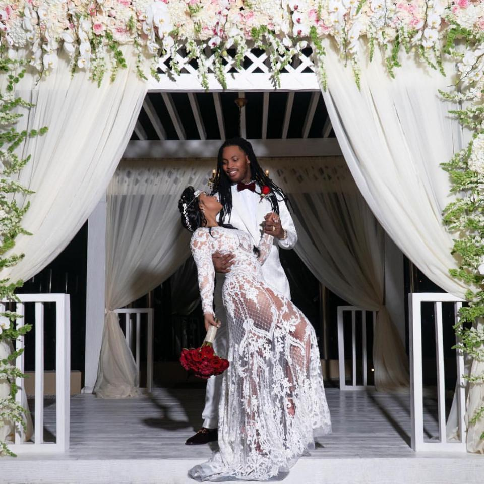 Waka Flocka And Tammy Rivera Renew Vows In Mexico