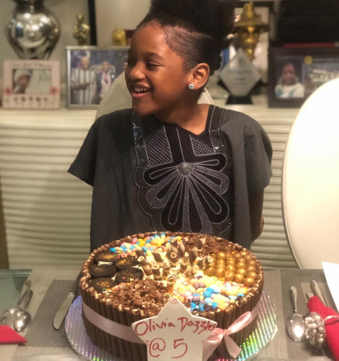 Olivia Idibia Celebrates 5th Birthday (4)