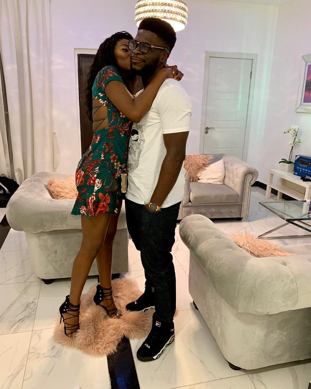 Nigerian Instagram Comedian Craze Clown With Girlfriend