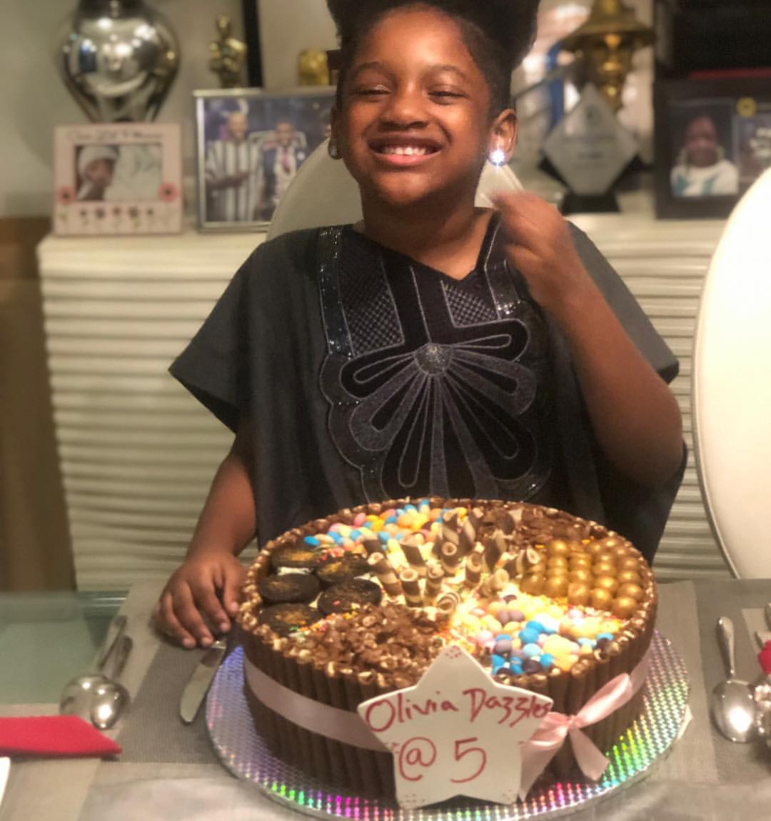 Olivia Idibia Celebrates 5th Birthday (2)