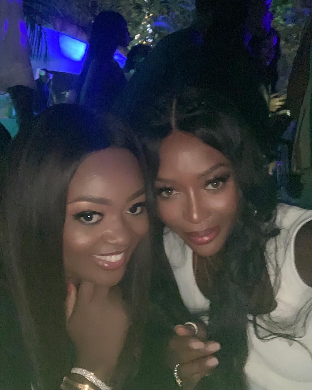 Jackie Appiah Meets Naomi Campbell In Accra