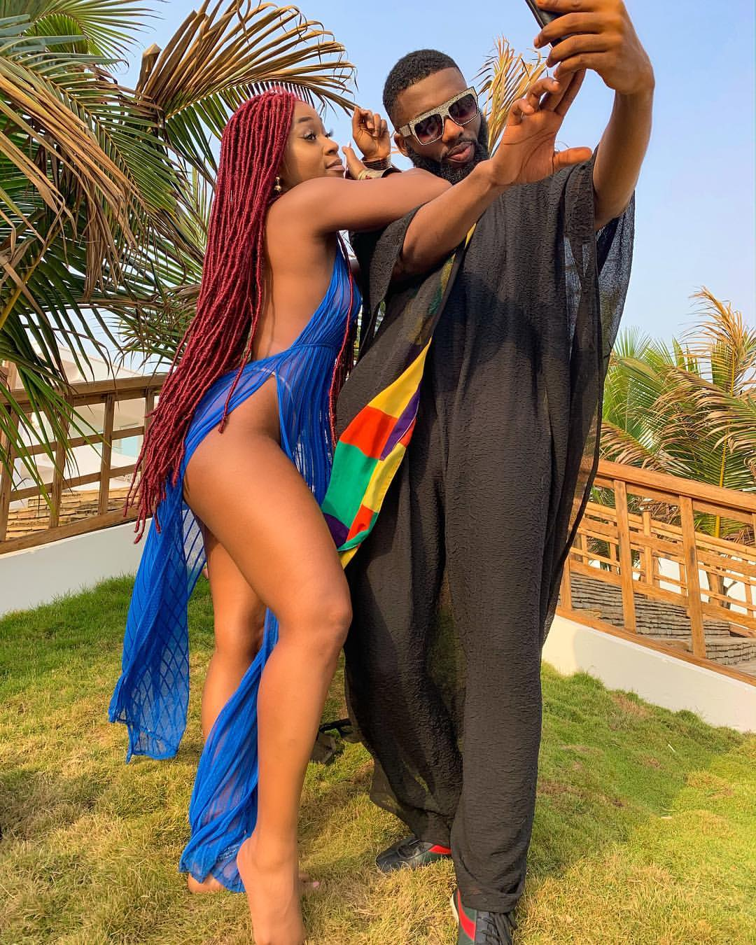Efia Odo Pictured With Swankyjerry