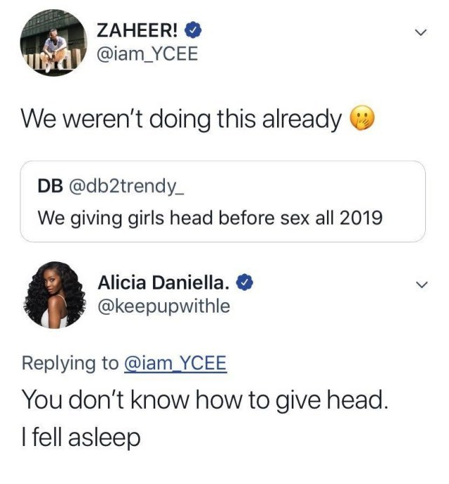 Lady Tells Ycee He Don't Know How To Give Head (2)