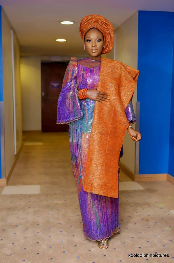 Mo Abudu's Daughter Traditional Wedding Introduction (4)