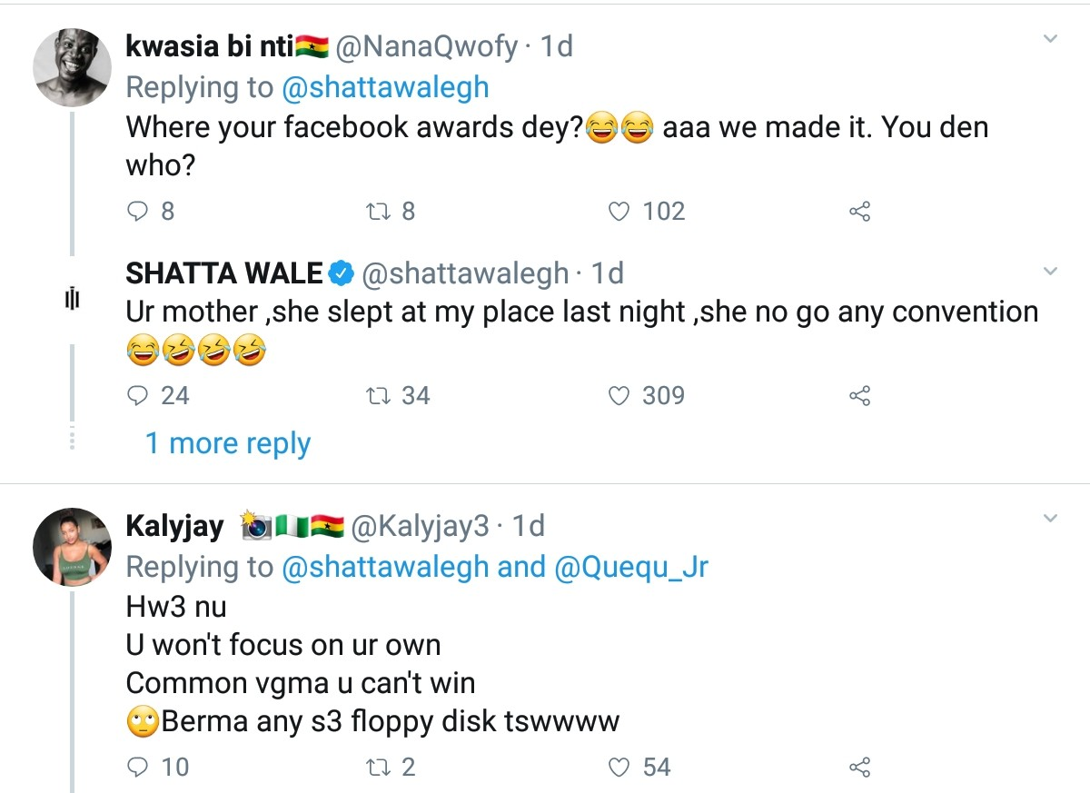 2019 SoundCity MVP Awards: Shatta Wale Insults Sarkodie And