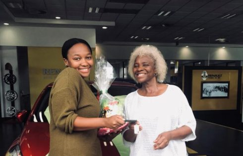 South African Lady Gets Surprise Car Gift From Her Mother