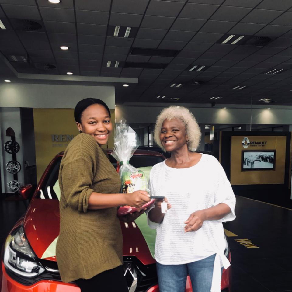 Photos: South African Lady Gets Surprise Car Gift From Her Mother For Being A Good Daughter