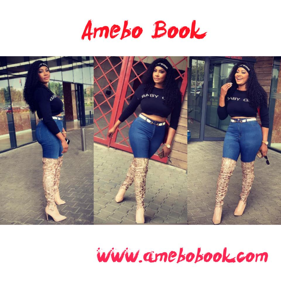 "Angela Okorie Thinks Instagram Needs ""Why Are You Lying"""
