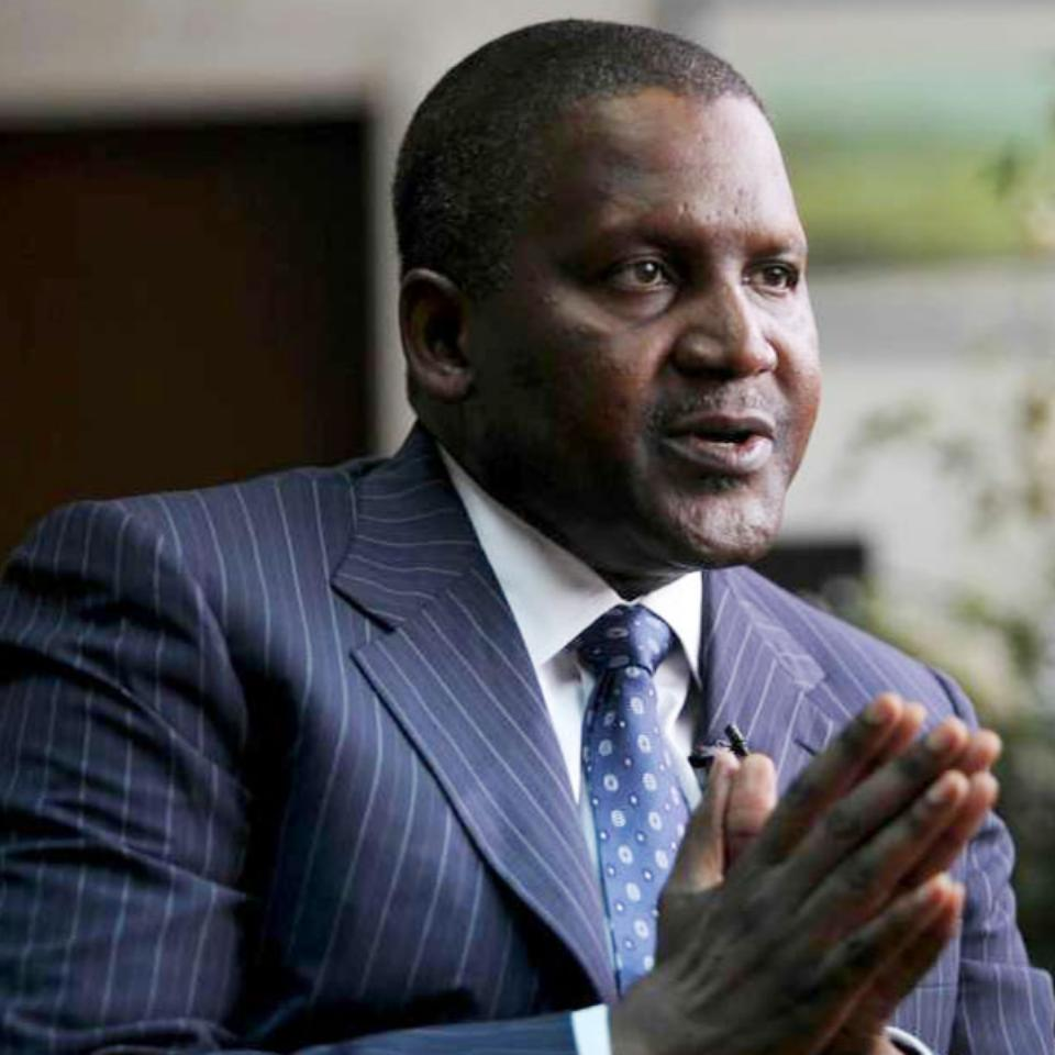 Aliko Dangote 64th Richest In The World