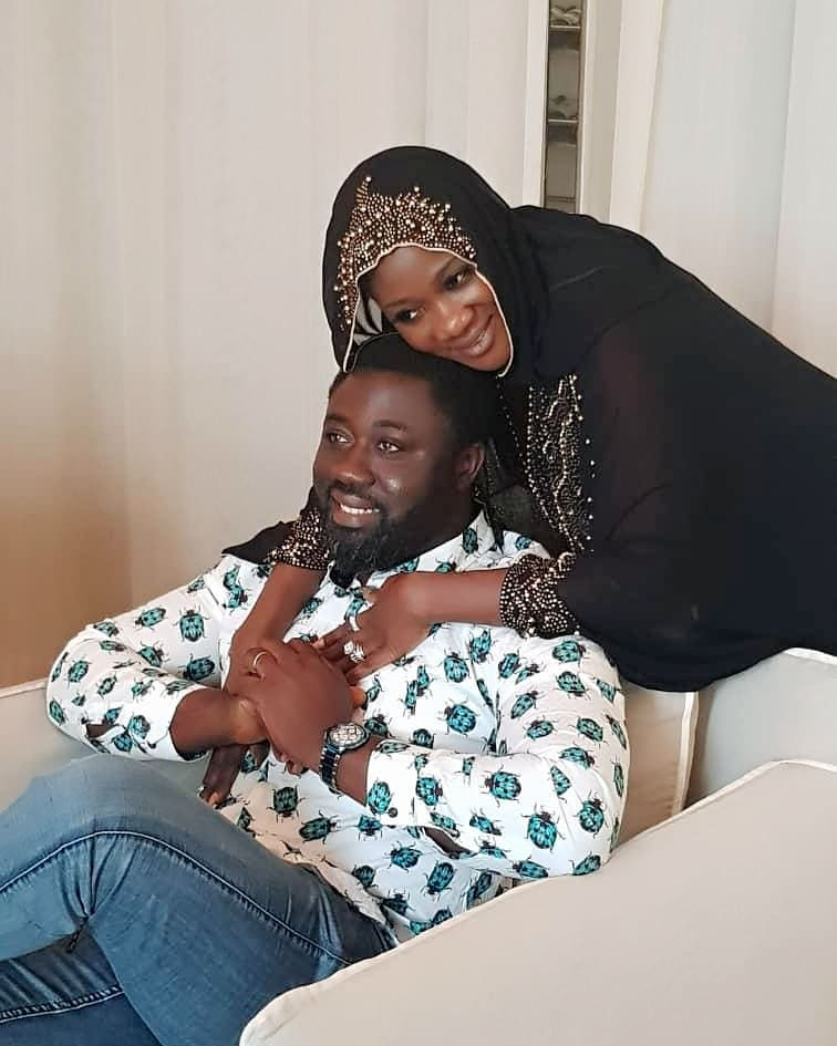 Prince Odi Okojie Valentine's Day Message To Mercy Johnson