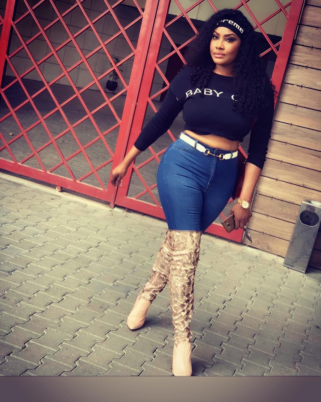 """Angela Okorie Thinks Instagram Needs """"Why Are You Lying"""" (2)"""