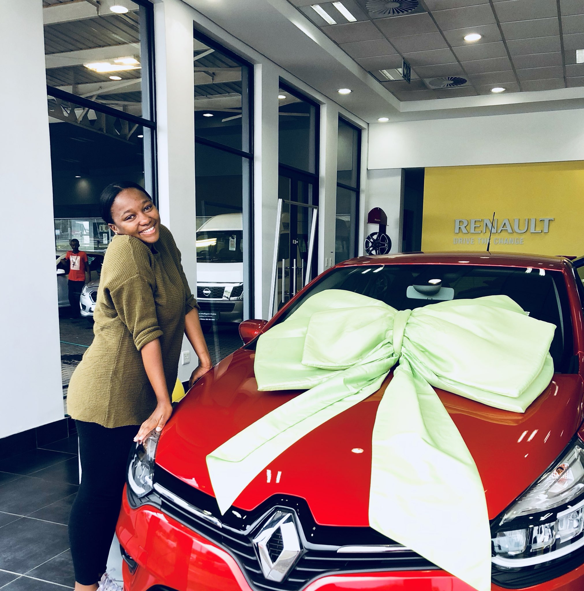 South African Lady Gets Surprise Car Gift From Her Mother For Being A Good Daughter