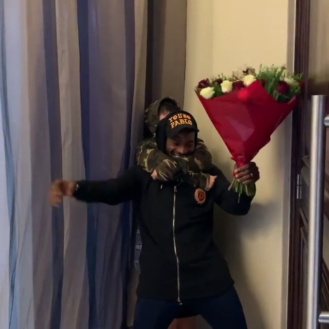 D'banj Surprises Wife Lineo Didi Kilgrow With Gifts On Valentine's Day (5)