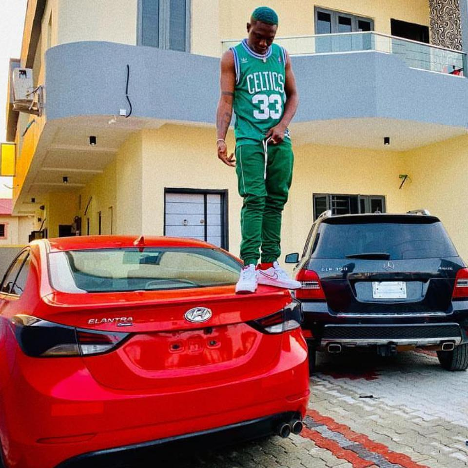 Zlatan Ibile Buys Himself Two New Cars And A House