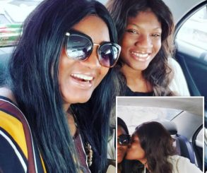 Omotola Jalade Celebrates As Daughter Princess Returns Home After 2 Years