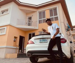 Mayorkun Buys Brand New Mercedes-Benz Ahead Of His 25th Birthday