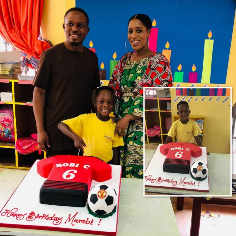 Naeto C Celebrates Son Marobichukwu Chikwe On His 6th Birthday