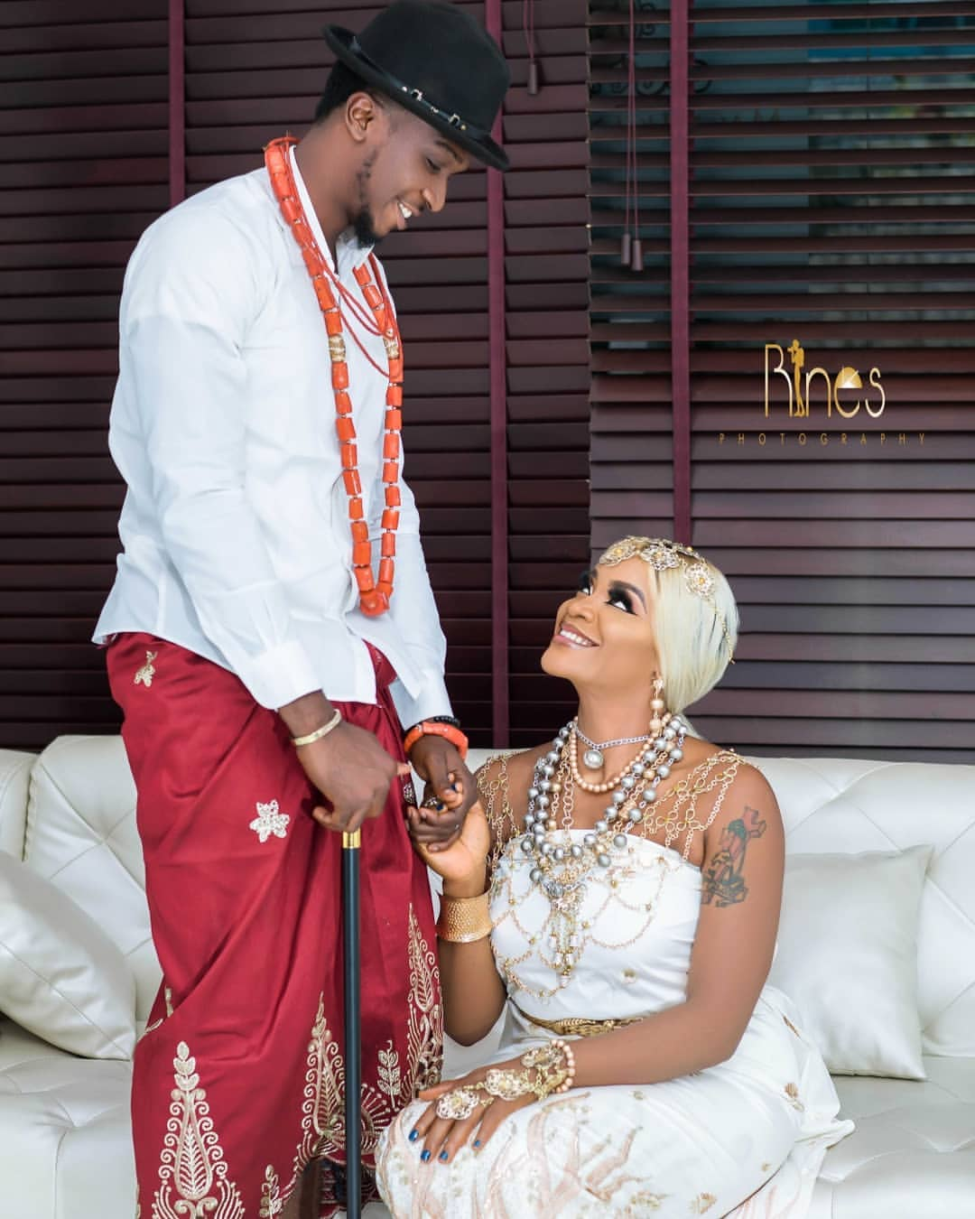 Uche Ogbodo Stunns As An Ishekiri Inspired Bride (4)