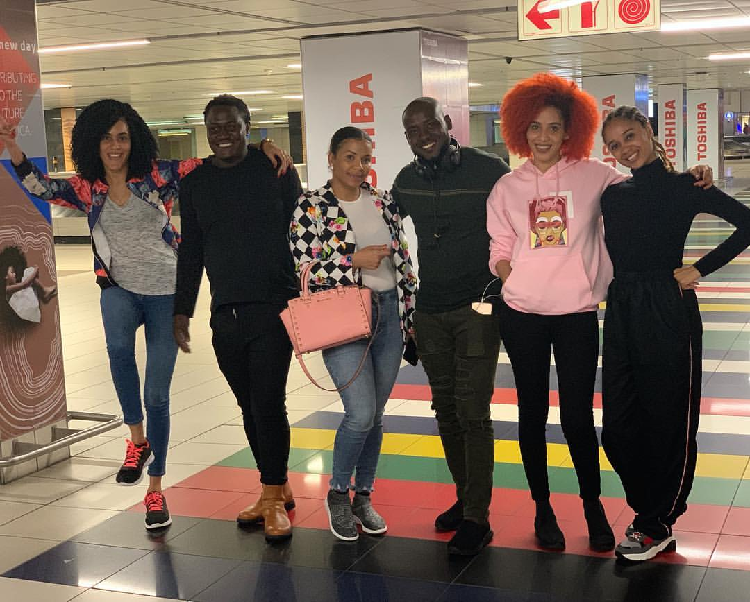 Juliet Ibrahim In South Africa With Friends And Family To Celebrate Birthday